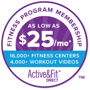 Active and Fit Direct Badge